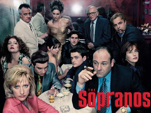 ´The Sopranos´ was named the best television show ever written by the The Writers Guild of America. (Photo courtesy of HBO)