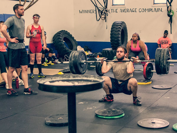 Kyle Wegman, 27, trains at CrossFit Supercharged.