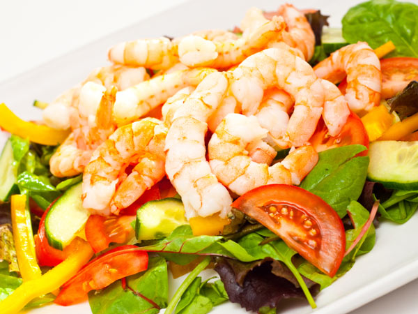 A fennel and shrimp salad is one of the spring recipes we chose for you this week.