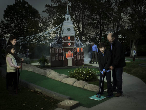 Image result for franklin square spooky mini golf