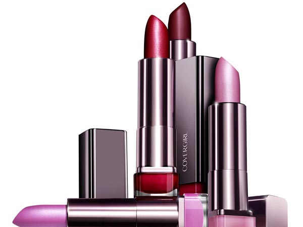 Covergirl Lipstick in Siren or Spellbound is $8.00 at CVS. (Photo courtesy of Covergirl Inc.)