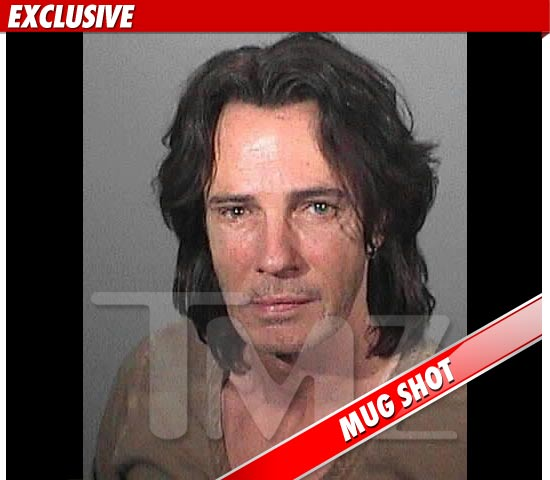 Rick Springfield´s mug shot after his DUI arrest last night (courtesy of TMZ).