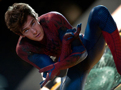 Andrew Garfield brings a twitchy angst and spindly physique to his portrayal. JAIMIE TRUEBLOOD / Columbia - Sony Pictures