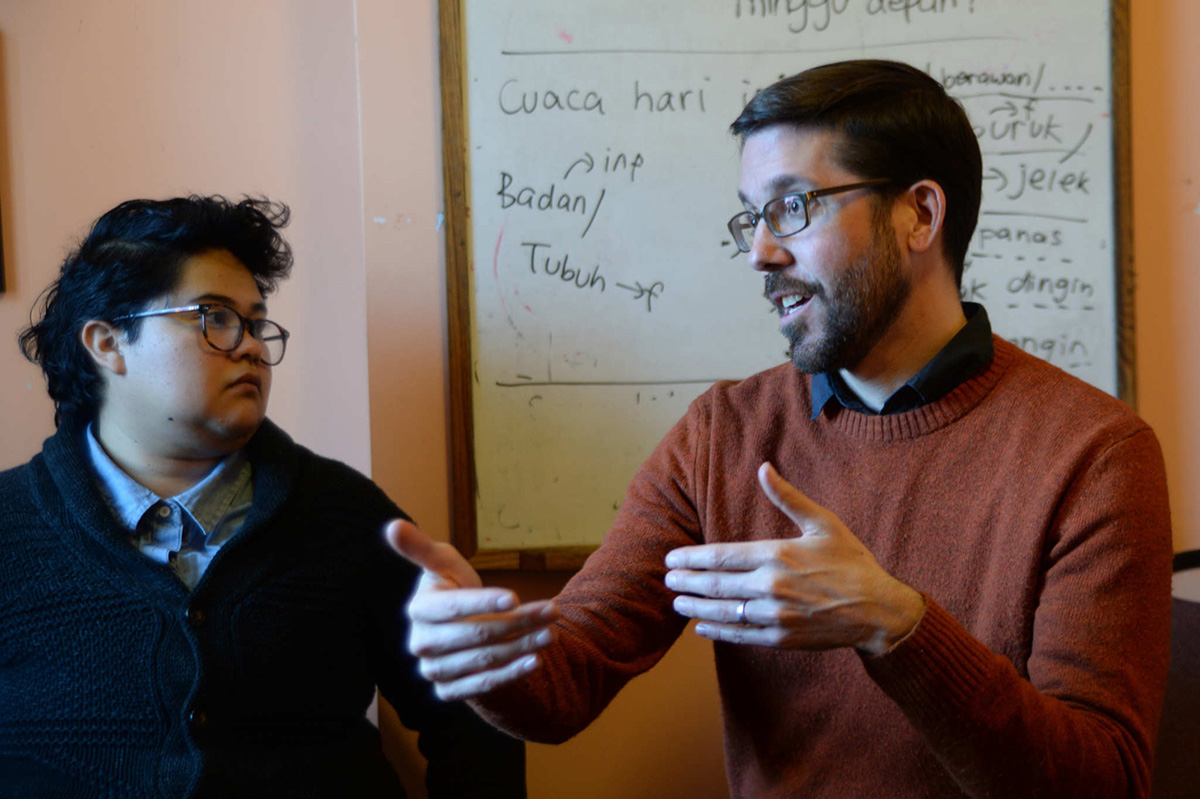Accompaniment Coordinator Jazmín Delgado and Director Peter Pedemonti, of New Sanctuary Movement of Philadelphia, discuss the increased work and strain of the past year.