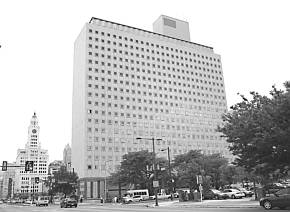 The State Office Building at Broad & Spring Garden streets.