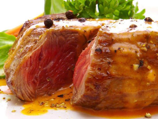 Tip: Bring meat to room temperature before cooking.