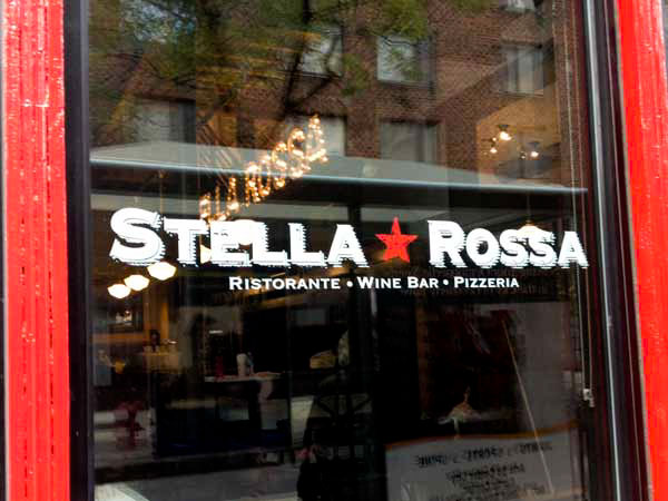Stella Rossa, 10th and Walnut Streets.