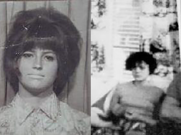 Sandra Ann Stiver (left) and Martha Evelyn Stiver.