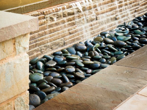 Gravel stone types for a rockin 39 landscape philly for Different color rocks for landscaping