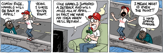 Phillies Cole Hamels tired arm