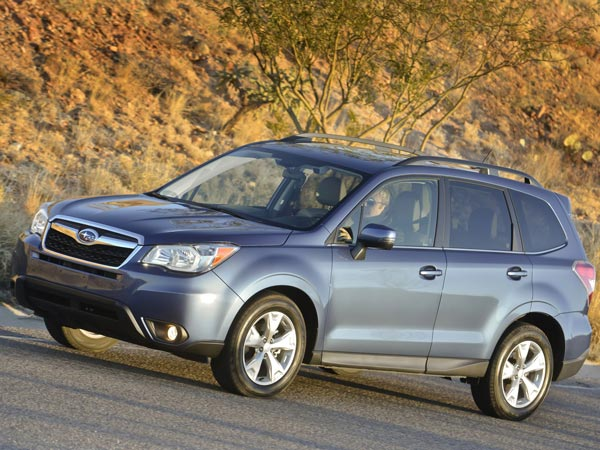 The 2014 Subaru Forester is the fourth generation of the crossover. (Subaru/MCT)