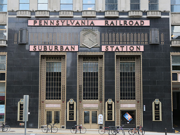 The facade of Suburban Station on 16th Street in Center City. (Stephanie Aaronson/Philly.com)