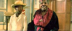 "Gary Cadenat and Darling Legitimus in Euzhan Palcy´s stirring ""Sugar Cane Alley,"" set in Depression-era Martinique."