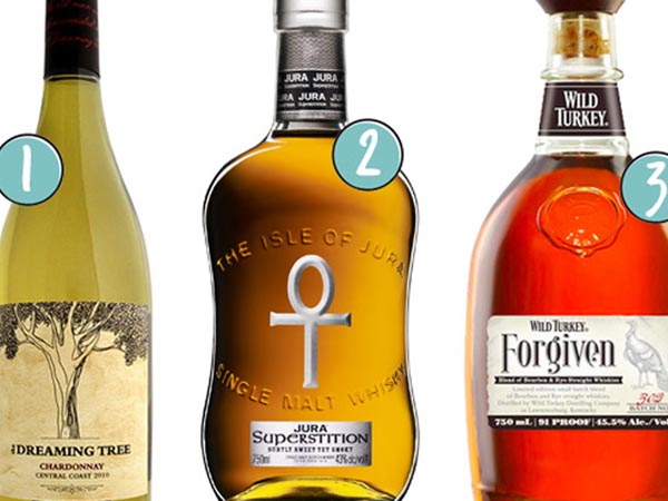 Here's a round-up of booze to set on the Thanksgiving table.