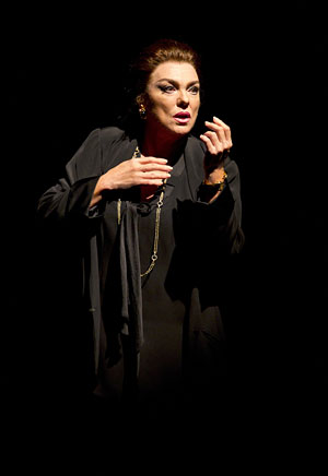"Tyne Daly plays Maria Callas in ""Master Class"" on Broaday. (AP Photo/Boneau/Bryan-Brown, Joan Marcus)"