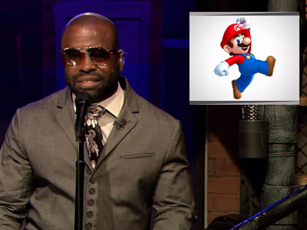 Black Thought rapping over the Super Mario Brothers theme on ´Jimmy Fallon´