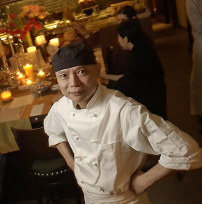 Thien Ngo, during his Fork days. (Photo: Michael Perez / Inquirer)