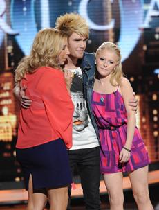 Elise, Colton and Hollie -- you may be bottom three, but the judges love you all