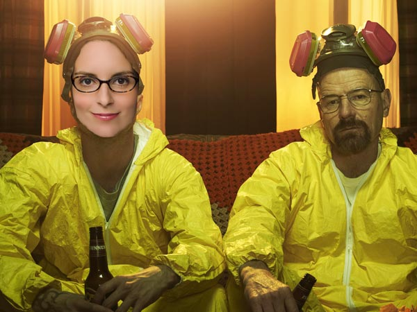 Imagine if Liz Lemon sold meth with Walter White...