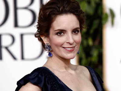 "Tina Fey arriving for the 2011 Golden Globes Award. Fey has local roots in Upper Darby, but her ""30 Rock"" counterpart, Liz Lemon, attended Bryn Mawr on ""a partial competitive jazz dance scholarship."" (AP Photo/Matt Sayles)"