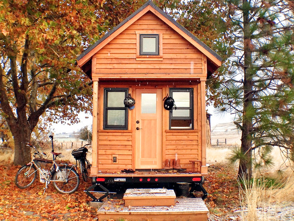"When you think tiny homes, think under 500 square feet. But many are smaller! (Photo: Tammy Strobel / flickr / <a href=""http://www.flickr.com/photos/rowdykittens/"">http://www.flickr.com/photos/rowdykittens/</a>"
