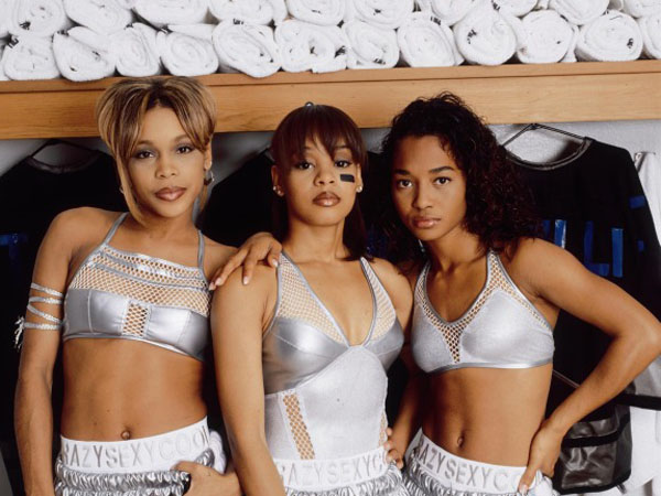 T-Boz, Left Eye and Chili–back in the day.