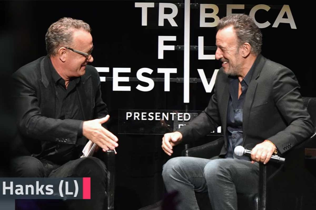 Tom Hanks and Bruce Springsteen paid tribute to Jonathan Demme during the Tribeca Film Festival´s Storyteller series.