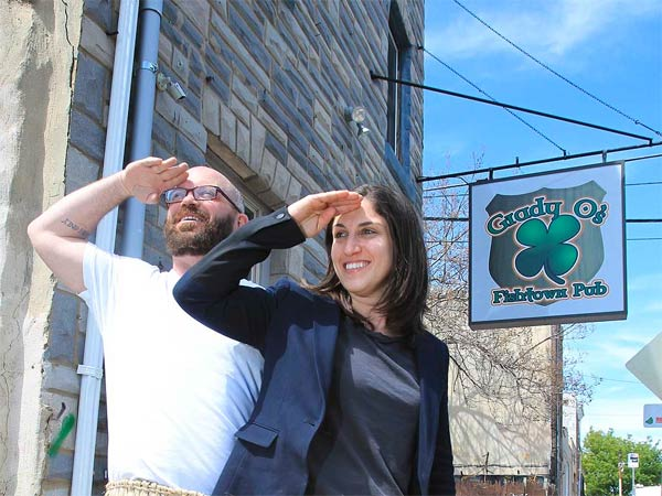 """Tommy Up and Sarah Brown turned to Kickstarter to fund a Fishtown tiki bar, an idea """"a lot more out of left field than your traditional business concept."""""""