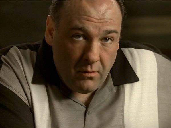 James Gandolfini as Tony Soprano in the final scene of ´The Sopranos.´ (Photo via HBO)