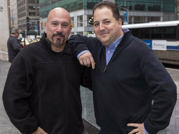 "Tony Luke and Josh Capon will be the faces of Spike TV´s ""Frankenfood."" (handout photo)"