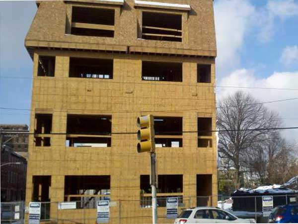 Former jeweler-to-the-stars turned developer Barry Sable is building  townhouses at 3rd and Reed Streets. L&I shut down construction after discovering the building was taller than permitted. Sable will jack the building up to lop off 22-inches.