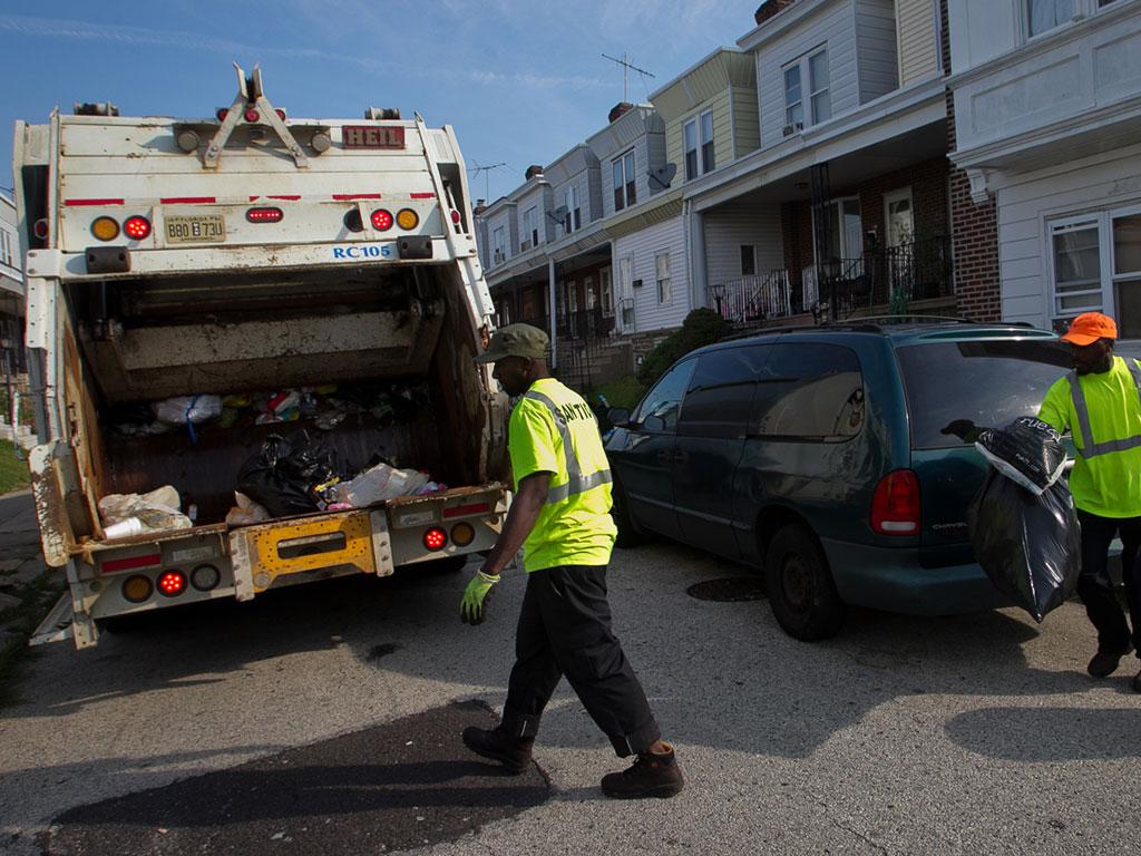 Diapers Garbage Truck By Heficus
