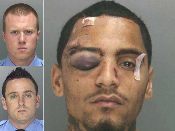 Philly cops lie about beating man