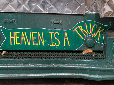 A sign on the Yumtown truck at Temple. (Michael Wirtz / Staff Photographer)