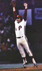 Tug McGraw: Yes, he could.