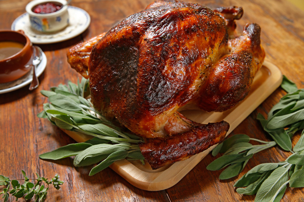 Cider-Brined Turkey With Star Anise And Cinnamon Recipe ...