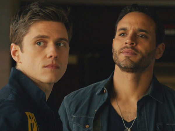 "Aaron Tveit and Daniel Sunjata star in ""Graceland"""