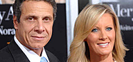 Andrew Cuomo and girlfriend Sandra Lee. (Peter Kramer / Associated Press)