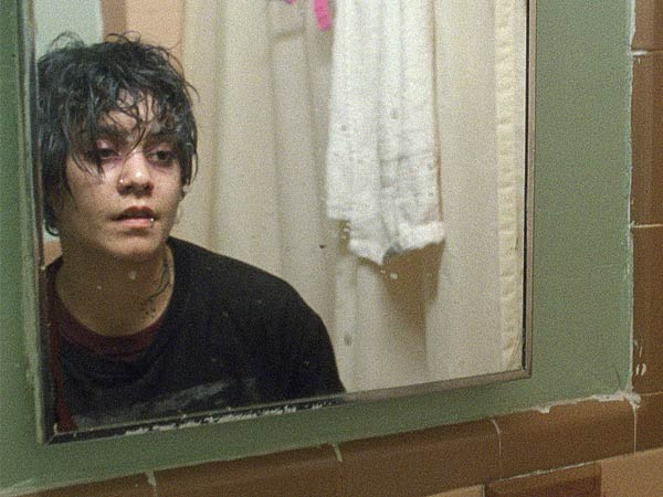 Vanessa Hudgens, former Mouseketeer, stars as an abused teen saved by a priest, a Bible, and a shelter, in a film masquerading as social realism.