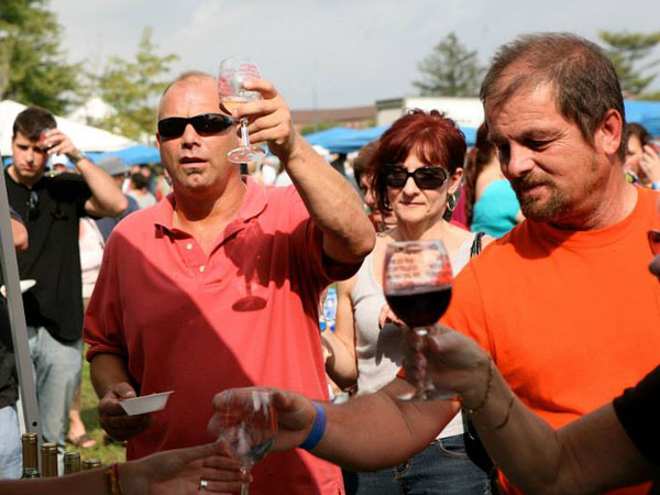 The 17th annual Vendemmia Wine Festival will take place on Sunday, September 29, 2013.