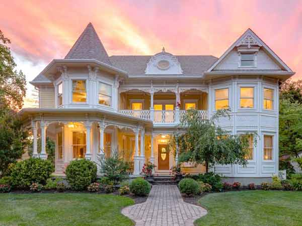 on the market custom built victorian in haddonfield for
