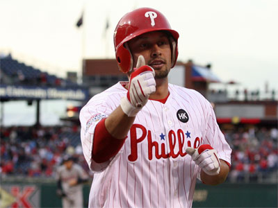 The Phillies officially signed Victorino to 3-year, $22M deal on Friday. (Yong Kim / Staff Photographer)