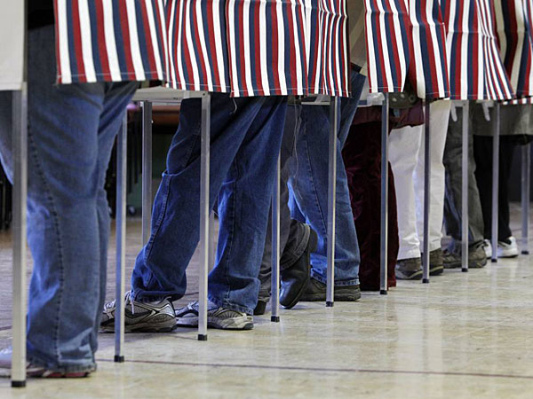 On Tuesday, Philly voters will be asked to elect a district attorney, city controller and judges for Superior Court (one), the Court of Common Pleas (seven) and Municipal Court (three). (AP Photo/Toby Talbot, File)