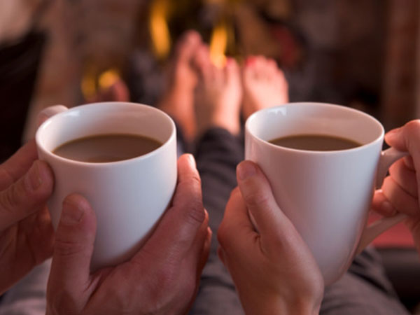 Your hands are one of three body parts that tend to get the coldest, wrap them around a warm mug of hot chocolate, tea or coffee.