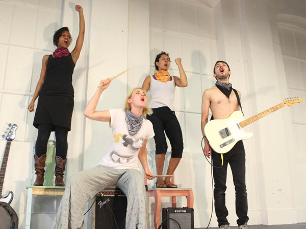 Artist collective Applied Mechanics present a new piece of interactive theater, ´We Are Bandits.´ (Photo by Maria Shaplin)