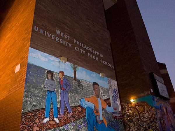 West Philadelphia University City High School, in Philadelphia. (Jessica Griffin / Philadelphia Daily News)