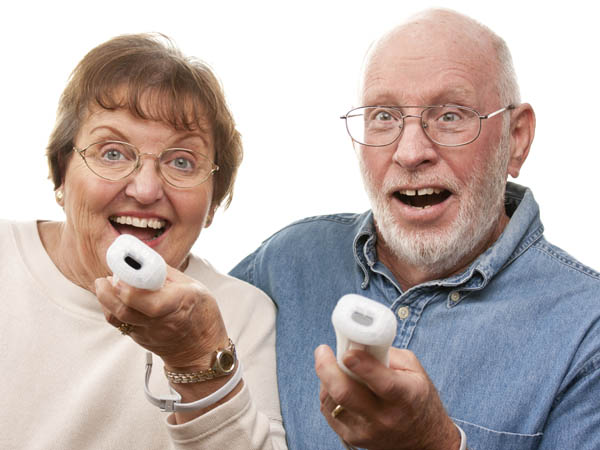 Seniors can play Wii today at the Burlington County Library´s Evesham location. (Andy Dean Photography via iStock Photo)