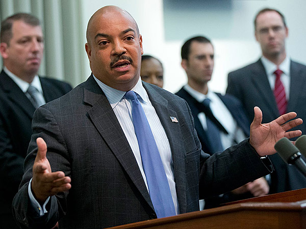 District Attorney Seth Williams, due in federal court yesterday to defend himself in a lawsuit over the alleged theft of intellectual property, decided to settle the case instead.  (Michael Bryant/Staff)