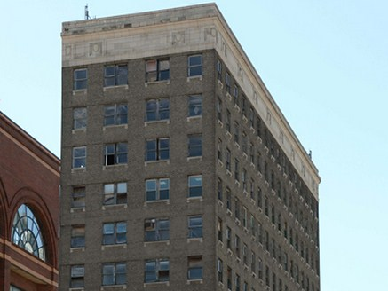 he historic 12-story Wilson Building, vacant since the mid '90s was purchased by LEAP Academy Universal Charter school last month.