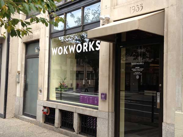 WokWorks at 1935 Chestnut St.